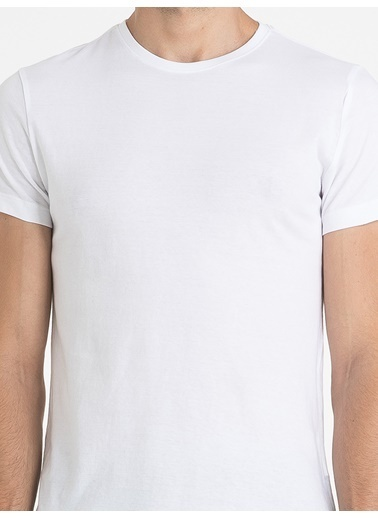 Loft Loft Erkek T-Shirt 021165 LF021165015 Beyaz